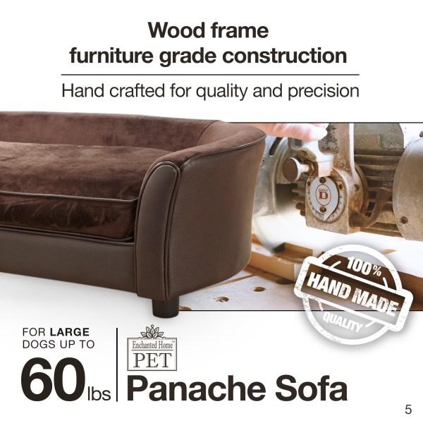 Ultra Plush Panache Pet Sofa