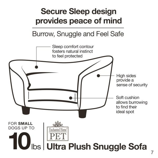 Ultra Plush Snuggle Bed-Pebble