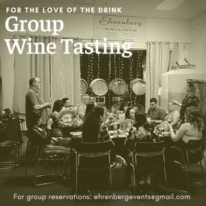 Group wine tasting