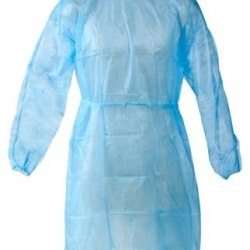 MedqSupplies Disposable hospital/isolation gown