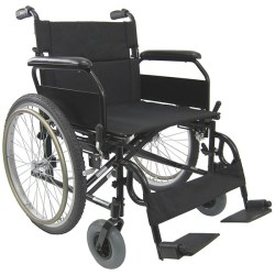 Wheelchair steel/nylon fix arm and foot – basic model