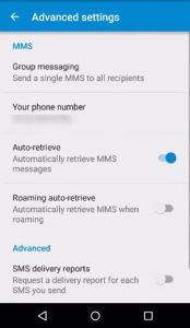 Disable auto-retrieve in Lollipop Messenger