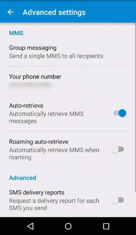 Disable auto-retrieve in Lollipop Messenger