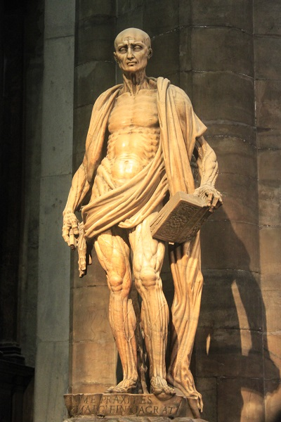 Milanskij sobor statuja