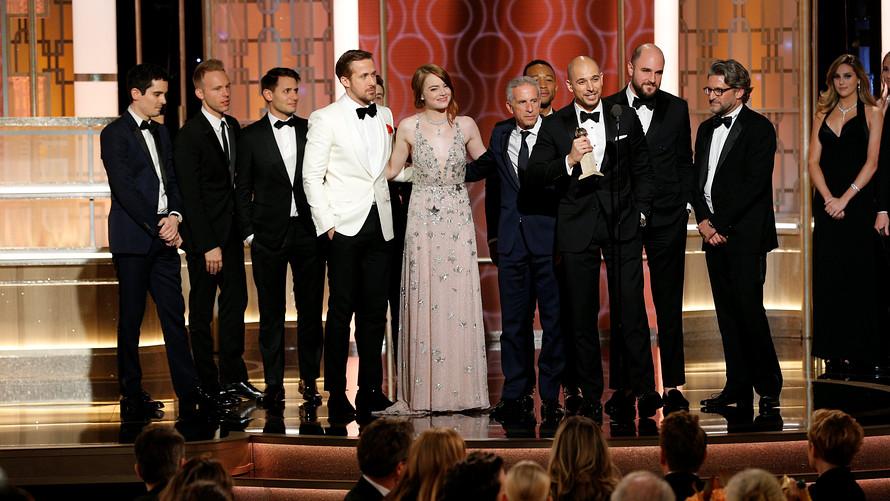 La La Land sets record Golden Globes Awards