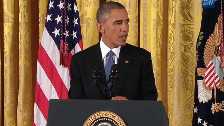 'Bourbon summit' the talk of Obama's post-midterm press ...