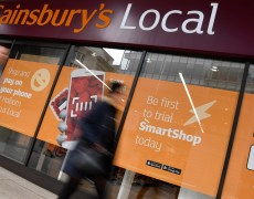 Sainsbury's like-for-like sales excluding fuel down 0.7%