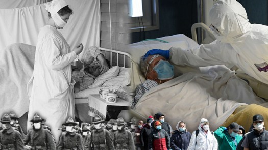 Scientists pour cold water on 'intriguing' similarity between COVID-19 and 1918 flu 2