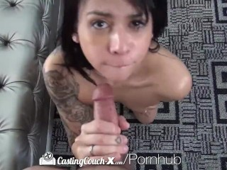 CastingCouch-X – Sadie Pop fucks agent in hopes to make it in porn