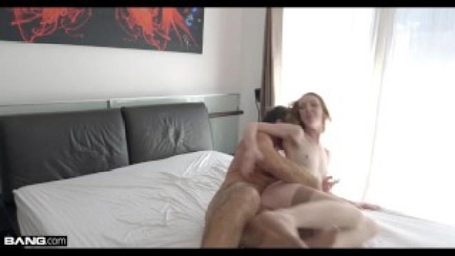 Rammed – Katy Kiss readhead with a tight pussy gets fucked
