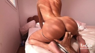 Young couple has hardcore sex, intimate and rough! Amateur LeoLulu