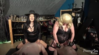 Two Slutty Mouths - Smoking, Spitting and Facesitting