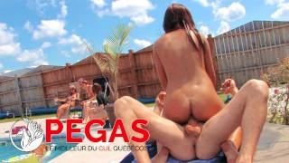 Pegas Productions - Le Meilleur des Pool Party du Québec