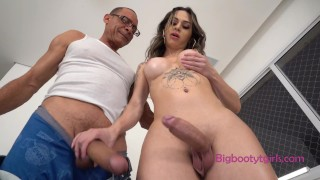 Natalia Castro Has One Delicious Booty - And Tasty Cock Too!