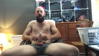 Watch me fuck my toy and shoot huge load right at you fpov cumshot joi