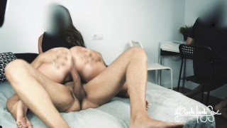 I'm coming home from a college party, he plays fornte while I fuck his best friend. Cuckold fantasy