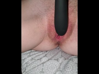 Home alone fingering my pussy