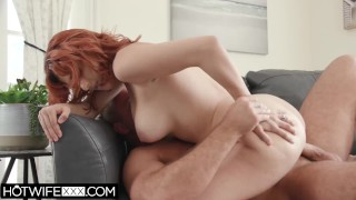 HotwifeXXX - Beautiful Redhead Big Tit Wife Keely Rose Loves Big Cock