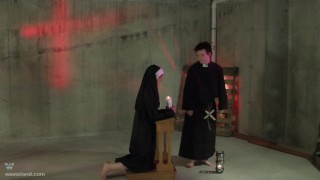 Nun Priest CosPlay Religious Fantasy
