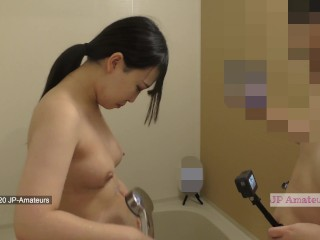 My Friend with benefits Sucking My Dick in the Shower Room Blowjob Twitter 4K