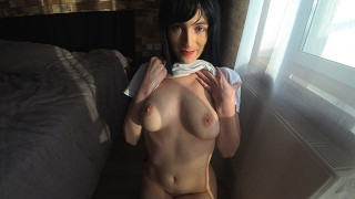 Fucking my ex-girlfriend while her boyfriend is in the army - Anny Walker