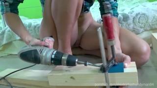 DIY Bed 3-1 - Angle drilling + bonus fuck