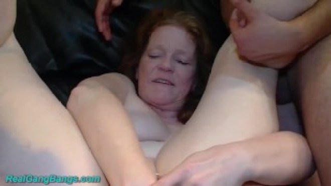 ugly 66 years old mom first fist orgy