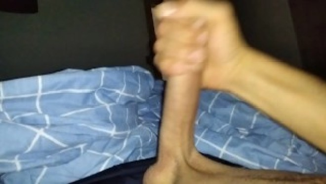 Short, but INTENSE Cumshot and Handjob at the beginning of the day