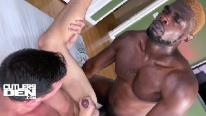 Devin Trez Unloads into Matt Heron in Interracial Bareback Fuck For Cutler's Den