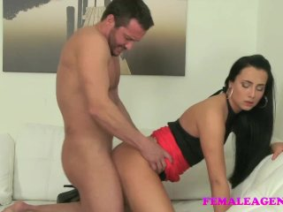 FemaleAgent Excited stud fucks foxy agent