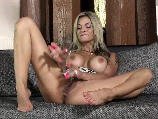 PJGIRLS Klarisa Leone Extreme pussy stretching, self-fisting & wire toy