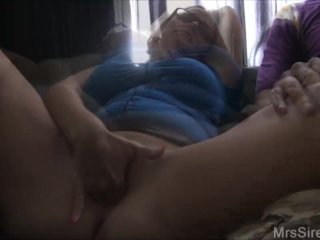 Wife Showing My Huge Holes