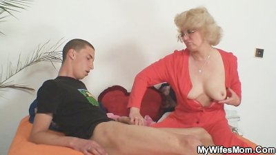 Milf in legislation smashes him and his lover is available in
