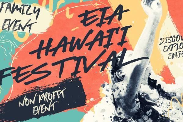 Eia Hawaii Festival Banner