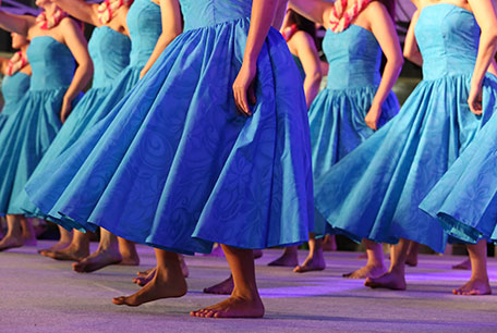 Hawaiian Dancers