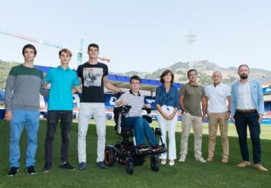 [eiberri.eus] SD Eibar y Kirolgi renuevan su acuerdo y apadrinan a cinco deportistas