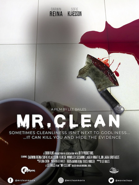 MR CLEAN Poster by Karen Keslen