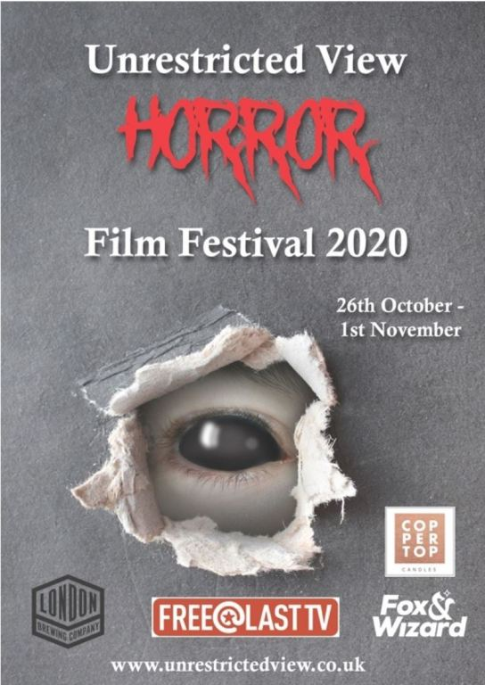 Unrestrictred view Horror festival schedule poster