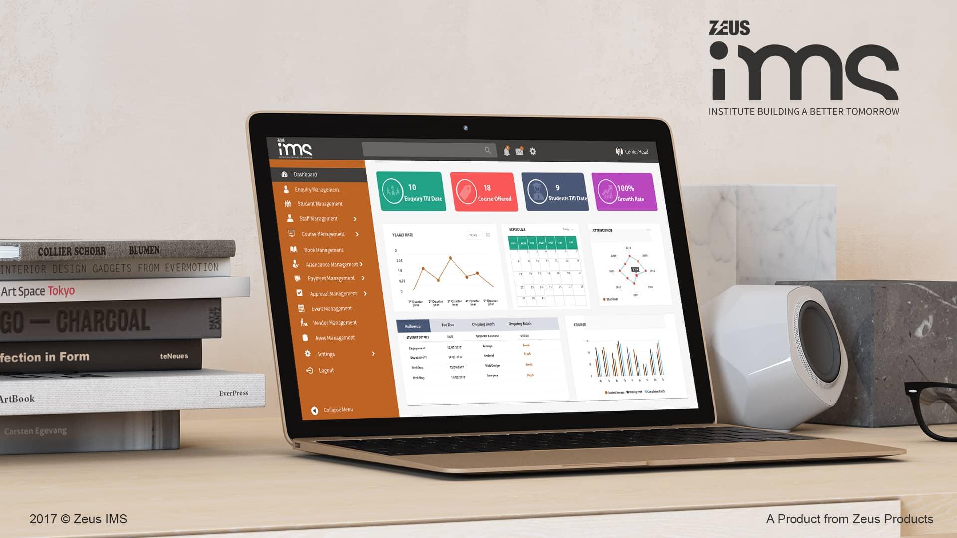 Zeus IMS Mock up CRM Tools