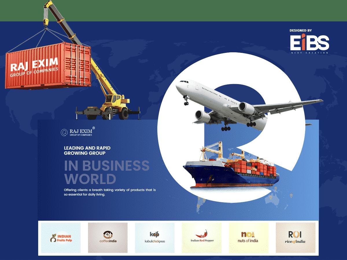EIBS Happy Clients- Rajexim Portfolio