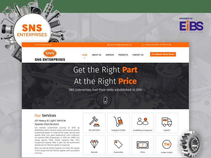 EIBS Happy Clients-sns enterprises Portfolio
