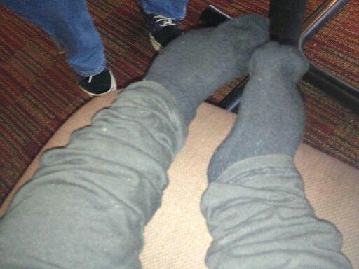 My feet again! Aren't they cute?