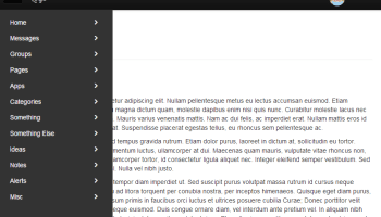 Scrollable menus in Bootstrap – Eiche fam