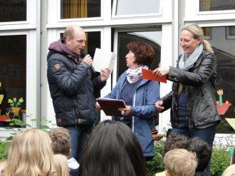Urkundenverleihung Eichendorffschule