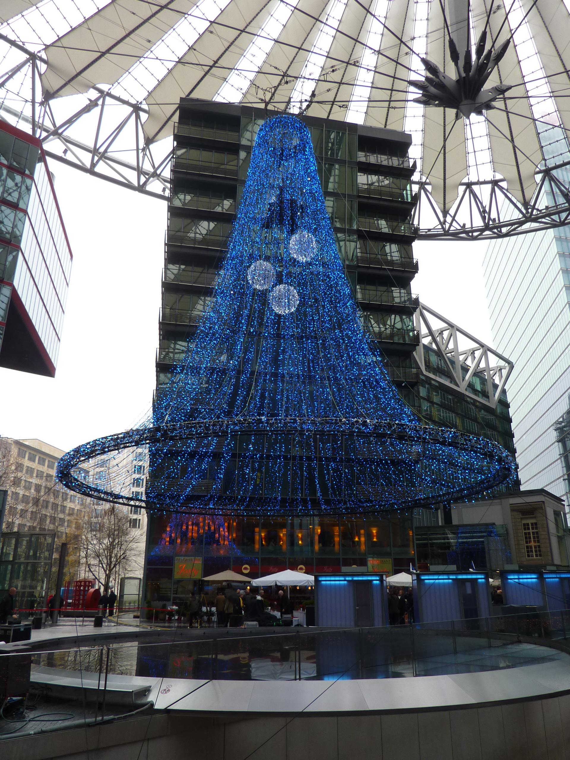 Im Center der Blauen Lichter