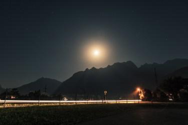 Kuchl, Salzburger Land, Österreich.
