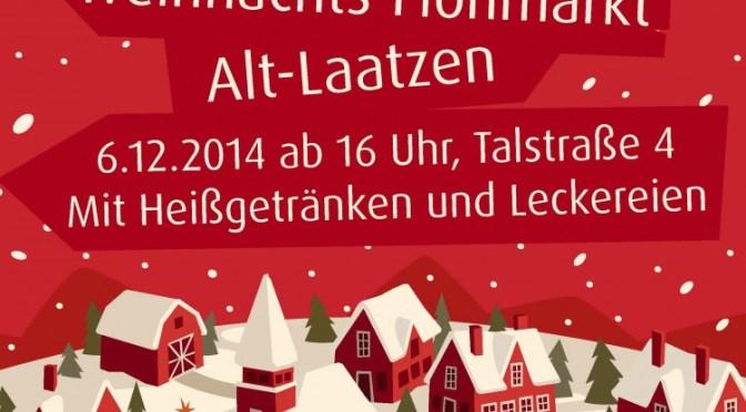 Weihnachtsmarkt mit Glühwein & Leckereien