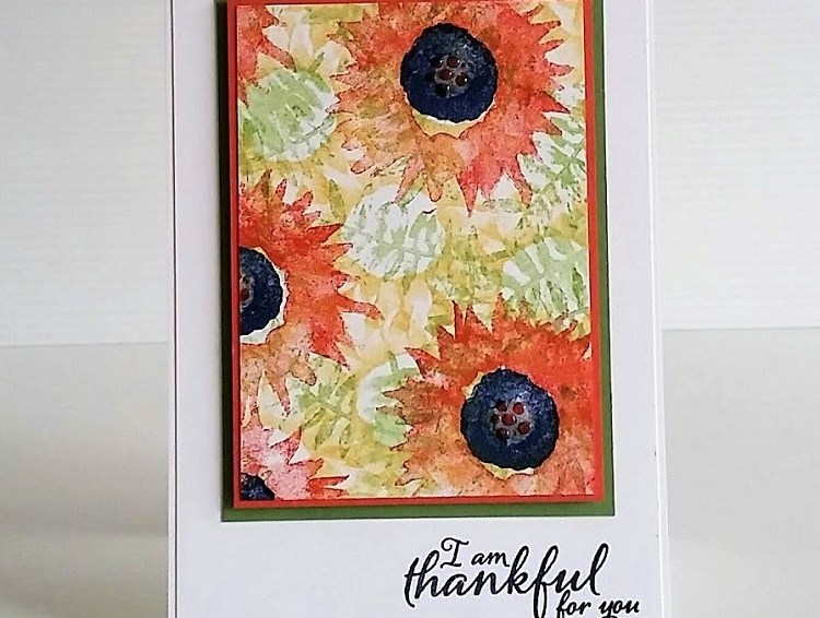Sunflower Cards using the Painted Harvest Stamp Set