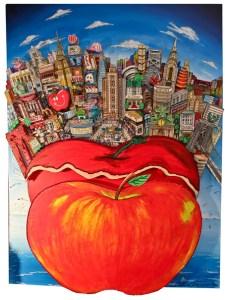 "Der ""Big Apple"" ist Charles Fazzinos Lieblingsmotiv. Bild: Kreis Düren"