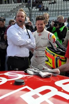 Gelassen wartet Felix auf den Start des Rennens über sechs Stunden. (Foto: Reiner Züll)